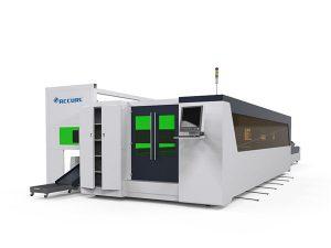 tîpa metal û pîvaza fîlimê qutkirina laser bi leza bilind 1500w bi cîhaza rotary