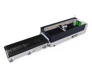 makîneya birrîna fîloya metal a rastîn a bilind 500w raybendên bihurandina serê
