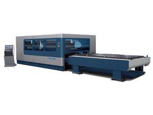 cnc metal makîneya qutkirina laser laser pîşesaziya 380v / 50hz 1kw 1.5kw çavkaniya laser
