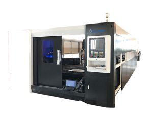 3000w fiber cnc laser birrîna laşsera gantry strûktura ajotinê ya dualî heye